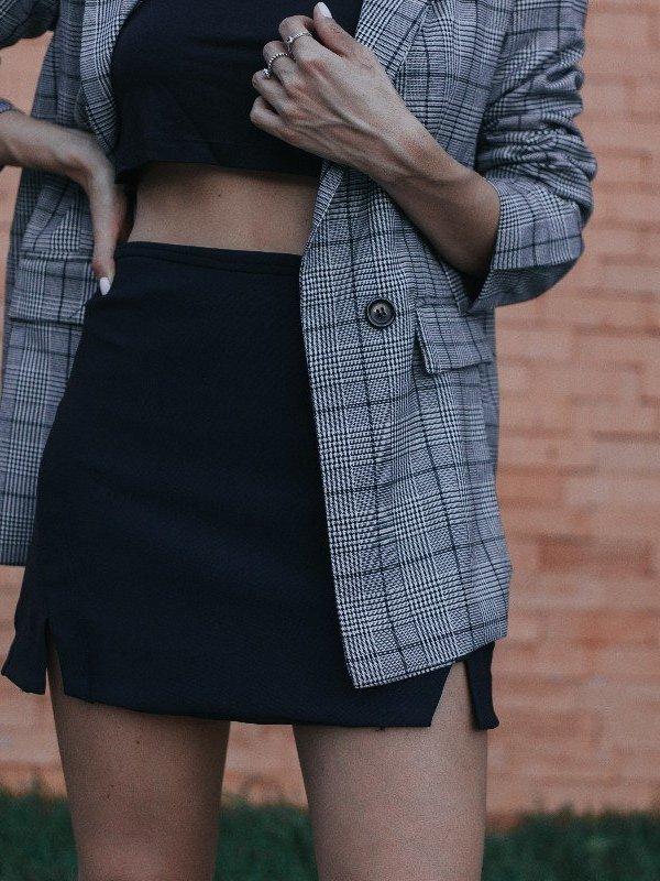 Shorts Saia Lara Preto