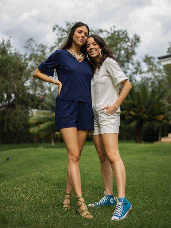 Conjunto Eduarda Azul Marinho