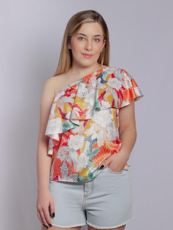 Blusa Mirela Tropical