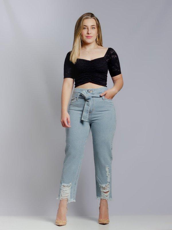 Calça Jeans Raíssa Destroyed Clara-4