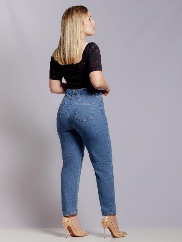 Calça Mom Jeans Clássica