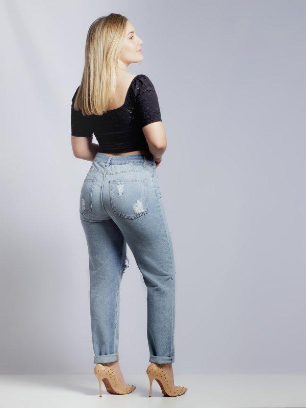 Calça Jeans Rafaela Destroyed-1