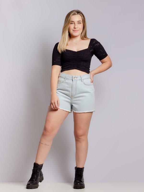 Shorts Jeans Julia Claro