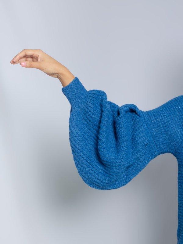 Tricô Catarina Azul-5