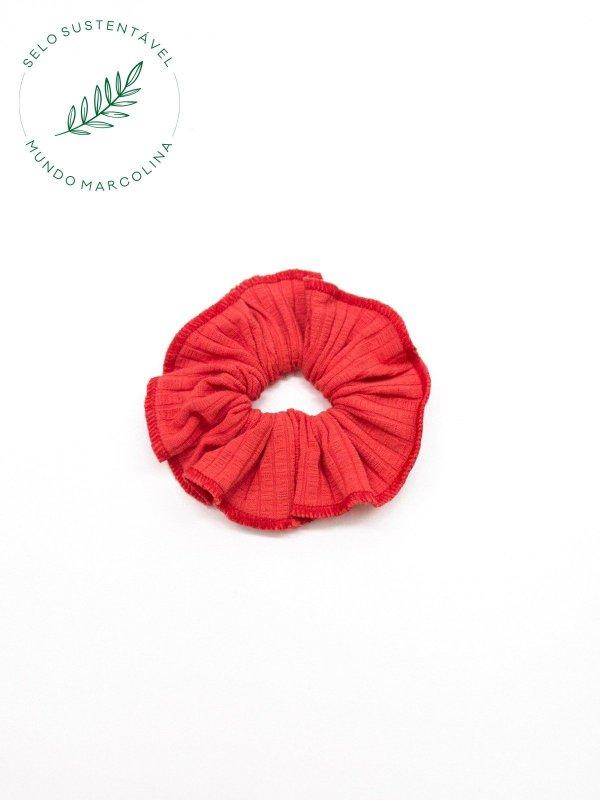 Scrunchie Vermelho