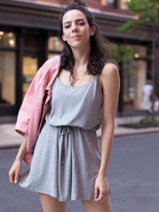 Vestido Alice Mescla Curto-1