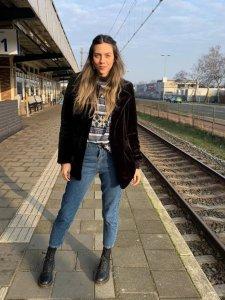 Calça Mom Jeans Clássica -1