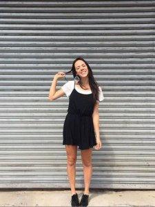 Vestido Alice Preto Curto-2