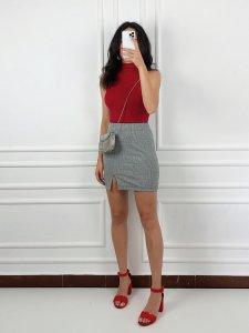 Shorts Jeans Julia Escuro -1