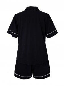 Pijama Curto Preto-2