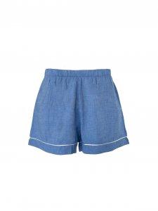 Pijama Curto Azul-3