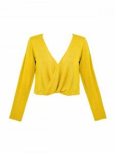 Blusa Mariah Amarelo Real -3