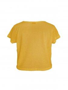 Cropped Podrinho Amarelo Solar-3