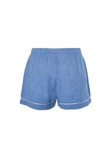 Pijama Curto Azul-4