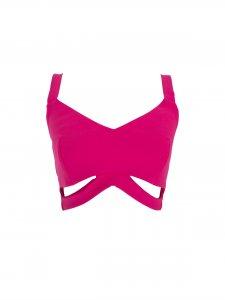 Cropped Vazado Pink -1
