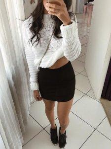 Shorts Saia Lívia Black-2
