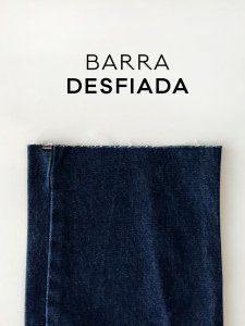 Calça Jeans Reta -3
