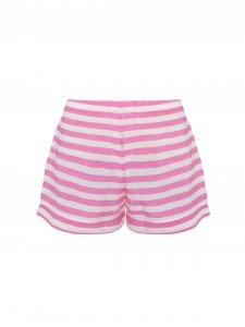Shorts Pijama Rosa com Listras-2