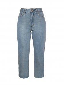 Calça Jeans Claro Reta -1