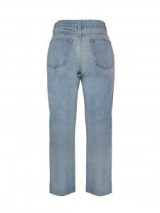 Calça Jeans Claro Reta -3