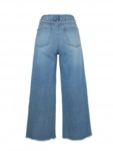 Calça Pantalona Cropped Jeans Clara-2