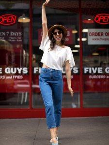 Calça Mom Jeans Clássica -11