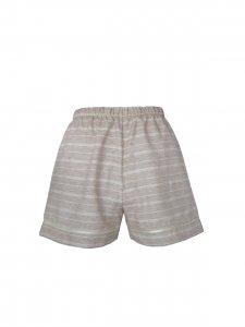 Pijama Curto Areia-6