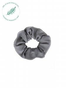 Scrunchie Cinza-1