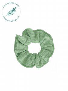 Scrunchie Verde Frescor-1