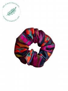 Scrunchie Estampado Colorido-1