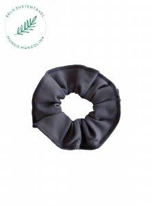 Scrunchie Cinza Escuro-1