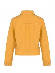 Jaqueta Jeans Mostarda-3