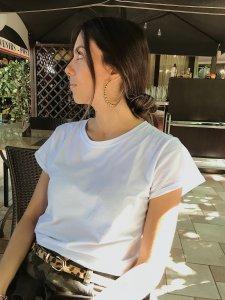 T-shirt Básica Branca -5