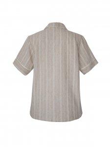 Pijama Curto Areia-5