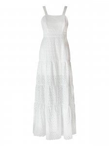 Vestido Longo Lese Branco-1