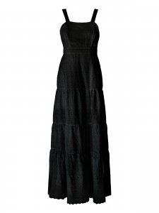 Vestido Longo Lese Preto-2