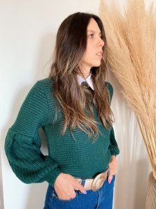 Tricô Catarina Esmeralda-3