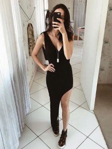 Vestido Assimétrico-1