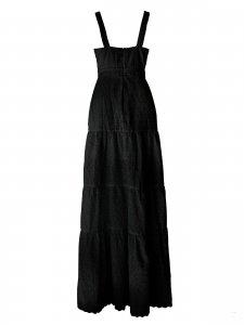 Vestido Longo Lese Preto-3