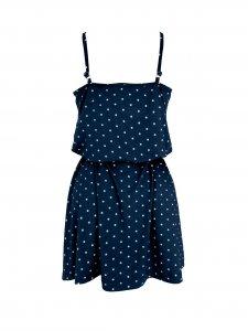 Vestido Alice Poá Azul-2