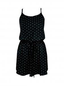 Vestido Alice Poá Preto-1