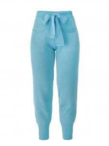 Calça Jogger Tricô Azul + Regata de mimo -1