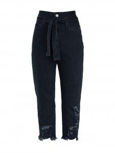 Calça Jeans Raíssa Black -1
