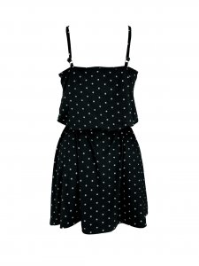 Vestido Alice Poá Preto-3