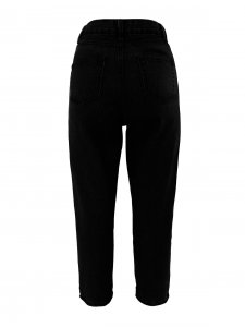 Calça Mom Jeans Black-3