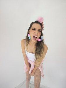 Brinco Pompom Candy -3