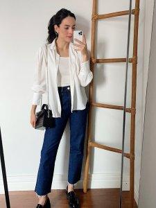 Calça Jeans Reta -5
