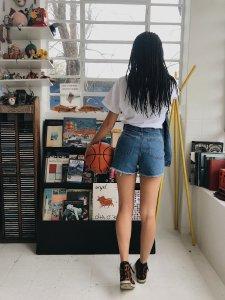 Shorts Jeans Julia Escuro -5