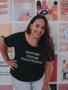 T-shirt Women Preta -12