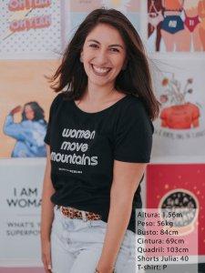 T-shirt Women Preta -7